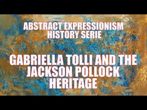 CONTEMPORARY ART PAINTINGS FOR SALE : Gabriella Tolli 's Abstract Expressionism