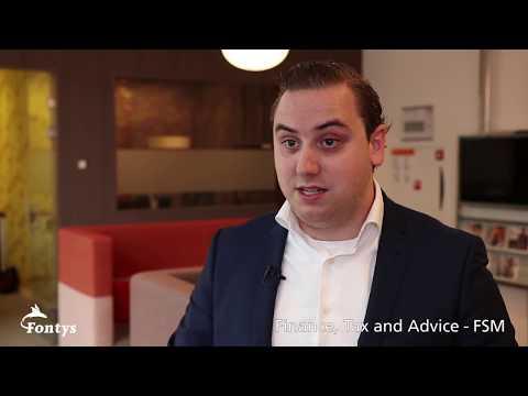 Werkdag van Jordy - Finance, Tax and Advice