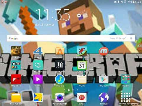 comment installer minecraft sur tablette gratuit youtube. Black Bedroom Furniture Sets. Home Design Ideas