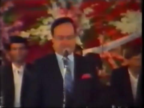 مؤسس الطرب صباح فخري - اعلان  عرس آل بادنجكي عام 1992 كاملة