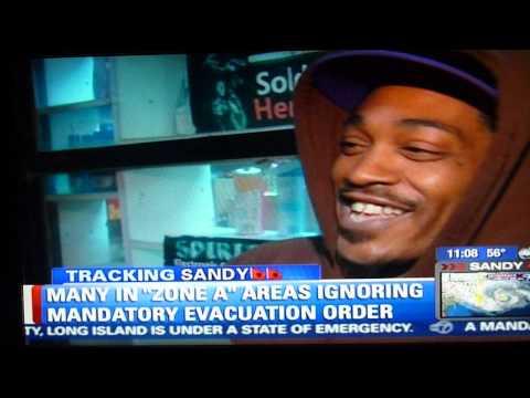 Far Rockaway ain't shook. The Hood vs. Hurricane Sandy