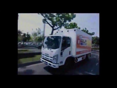 IsuzuSuperTruckรถบรรทุกอีซูซุ รุ่น ELF