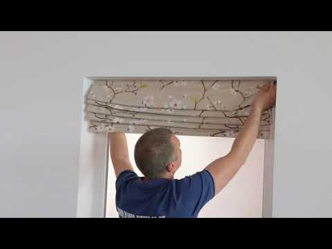 4  How to install roman blinds