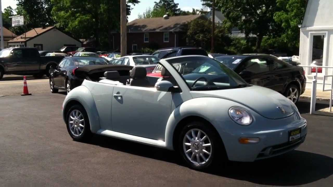 2005 volkswagen beetle convertible in edison nj 08817. Black Bedroom Furniture Sets. Home Design Ideas