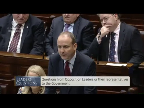 Join us LIVE as Taoiseach Leo Varadkar takes Leaders' Questions