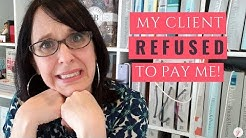 Real Interior Design Project: My client refused to pay me!