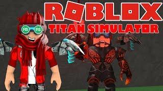 USING 1800 ROBUX IN ONE VIDEO!? Titan Simulator