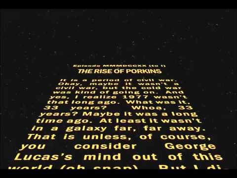 Star Wars Intro Crawling Text Replicated [Final]