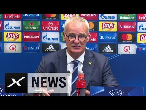"Claudio Ranieri nach 3:0-Sieg: ""Müssen ruhig bleiben"" | Leicester City | Champions League"