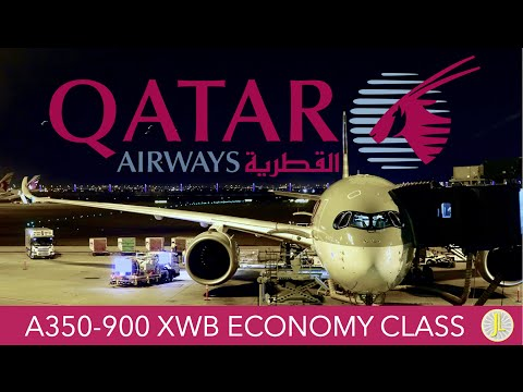 Qatar Airways A350 Doha ✈ Philadelphia Economy Class Trip Report