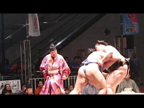 【ニコニコ超会議2017】大相撲超会議場所が大盛況!