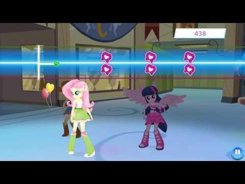 Песня Странный Мир в игре My Little Pony во вселенной Моя милая #Пони мультфильм для девочек #млп