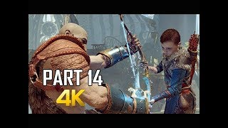 GOD OF WAR Gameplay Walkthrough Part 14 - LIGHT BOW (PS4 PRO 4K Commentary 2018)