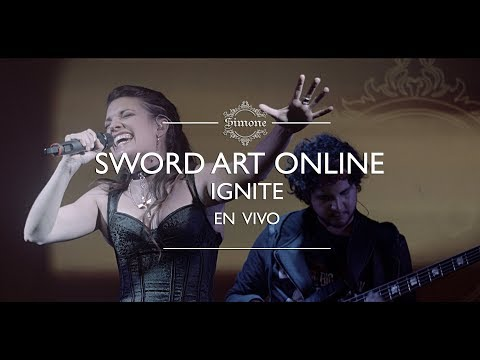 Sword Art Online / Ignite (Eir Aoi Cover Latino) En Vivo