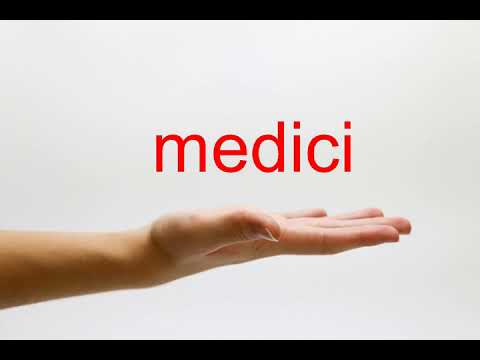 How To Pronounce Medici - American English