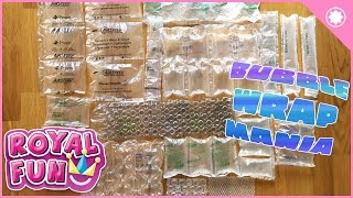 Bubble Wrap Mania – Popping 15 kinds!! Top 15 Pop! Video