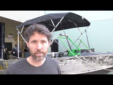 Adding a Bimini to a boat