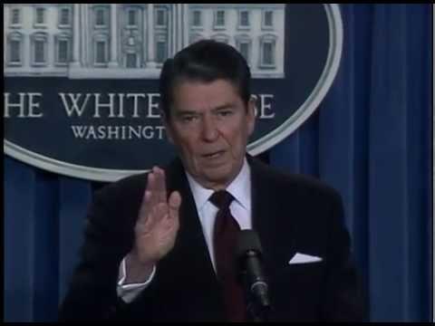 President Reagan's Press Briefing in the Press Room, November 25, 1986