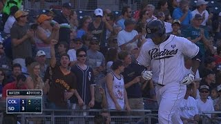Liriano crushes his first Major League homer