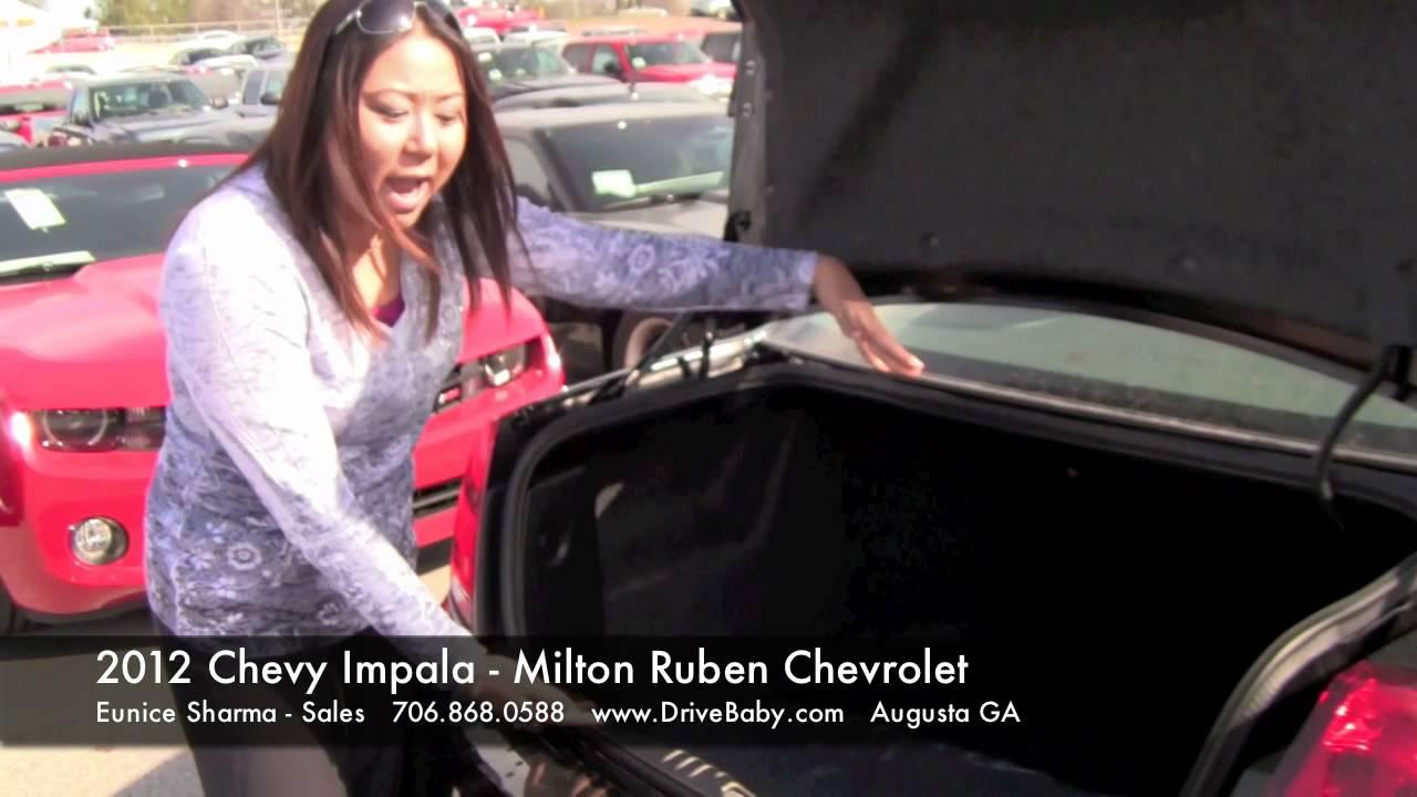 2012 Chevy Impala   Milton Ruben Chevrolet   Augusta GA