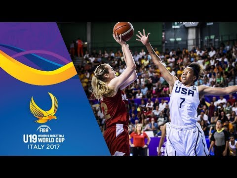 USA v Russia - Full Game - Final - FIBA U19 Women's Basketba