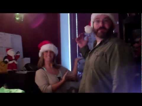 Oldies 95.7 Studio Tree Lighting