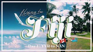 Fiji 2019 Day 1: Flying to Fiji | VLOG Day 72