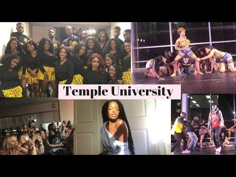 COLLEGE VLOG #4 | TEMPLE UNIVERSITY | Dynamic Afrique Dance Showcase