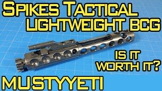 spikes tactical lightweight nib bcg 3lb ar build pt 2 musty yeti