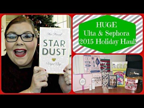 HUGE Ulta & Sephora 2015 Holiday Haul!