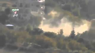 Syria #5 Dictator Assad Tries to Destroy Zabadani City With Heavy Artillery 3-Nov-13 Damascus