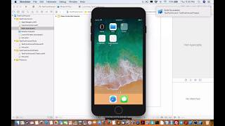 Gambar cover First demo with Xcode Swift 4 for Apple mac OS and IOS device app