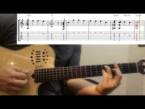 Remember me (Coco) - Guitar tutorial with tablatures. (Ne m'oublie pas)
