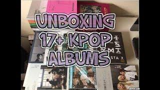 HUGE KPOP HAUL AND UNBOXING: MWAVE signed Nu'est, 워너원 Wanna one; Twice; SEVENTEEN; Monsta X; Loona +
