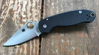 The Spyderco Para3 Pocketknife: The Full Nick Shabazz Review