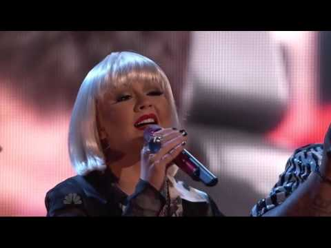 Christina Aguilera (Coaches Perfomance) - Good Riddance Time of Your Life