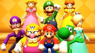 Mario Party The Top 100 - All Lucky Minigames