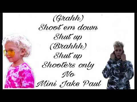 Mini Jake Paul, Jake Paul ft Mini Jake Paul Lyric