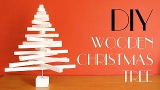 DIY - Wooden Christmas Tree