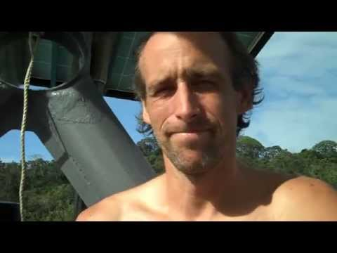 DIY Solar Sail Boat.  Solar Punk style
