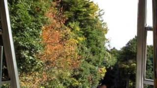 【前面展望】比叡山鉄道坂本ケーブル ケーブル延暦寺→ケーブル坂本