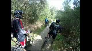 downhill mountain biking at trabuco canyon ca 3 24 12 mp4