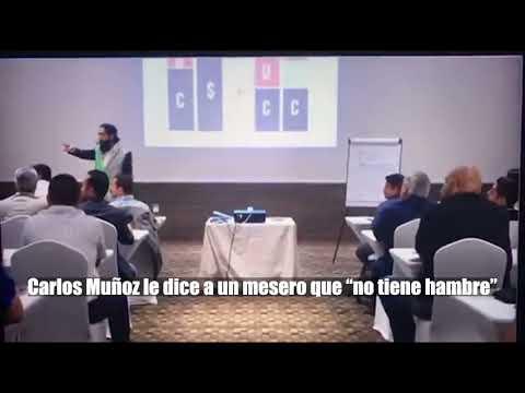 """¡INDIGNANTE! #VIDEO: Carlos Muñoz le dice a un mesero que """"no tiene hambre"""""""