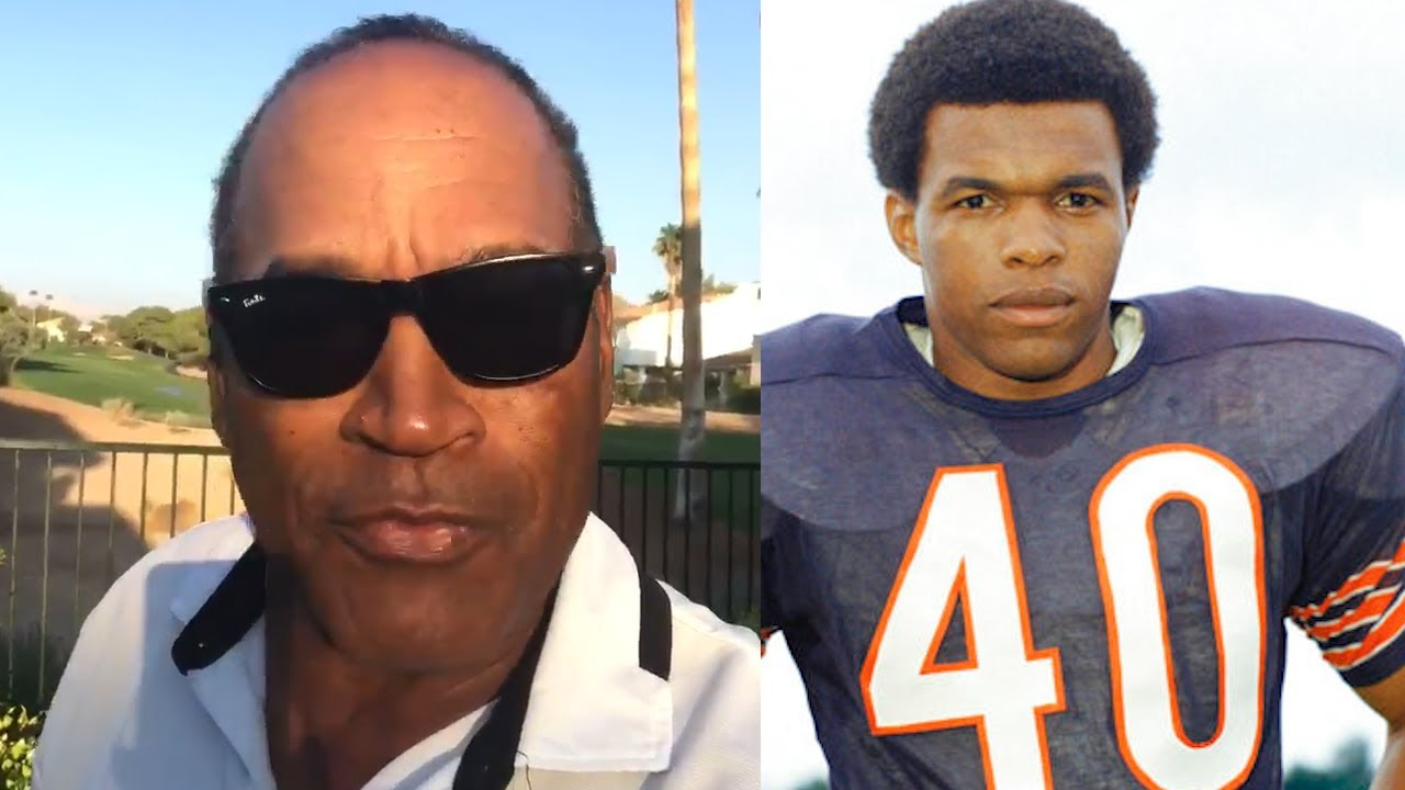 OJ Simpson Remembers Gale Sayers