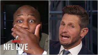 Marcus Spears can't believe Dan Orlovsky's Eagles-Cowboys take | NFL Live