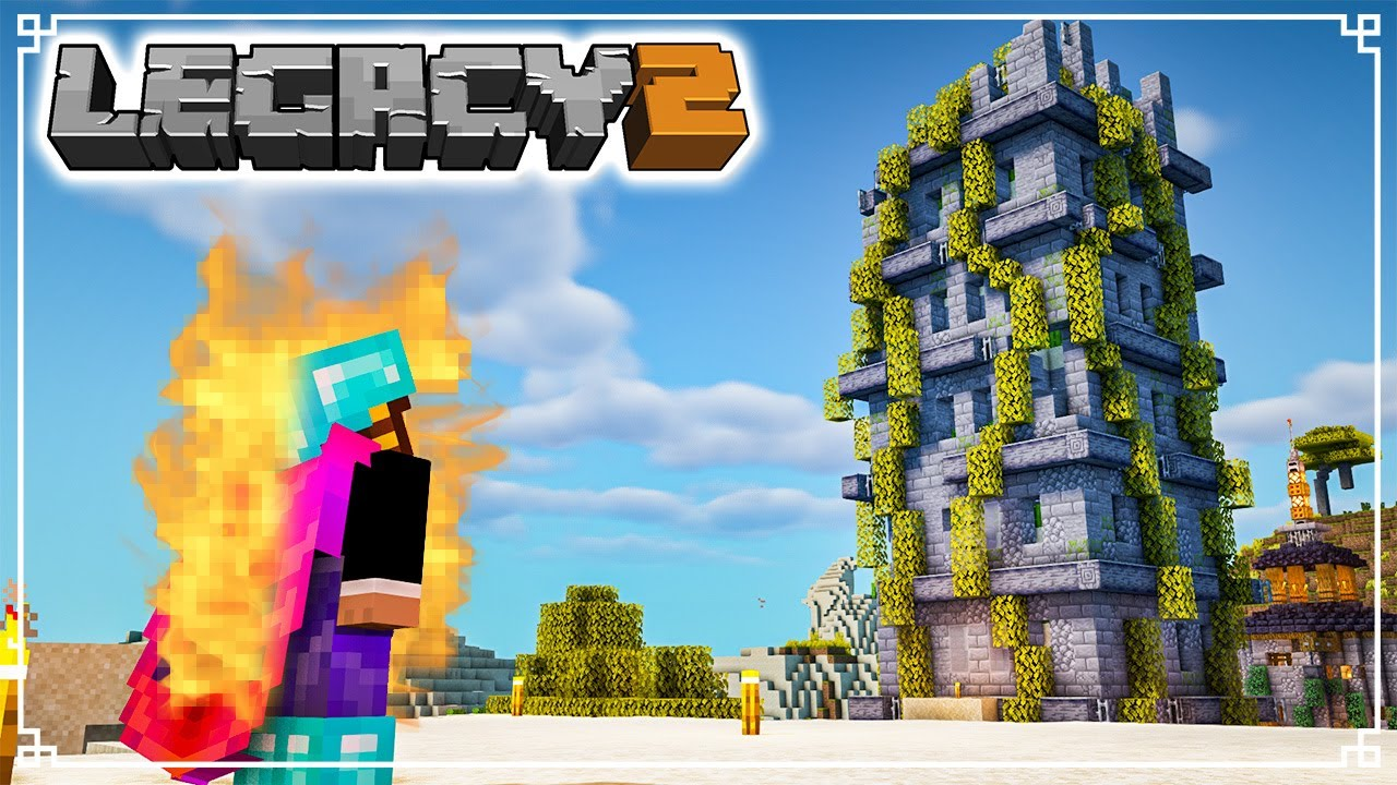 RUINED Cactus Farm - Legacy SMP 2: Episode 4 (Minecraft 1.16 Survival Multiplayer)