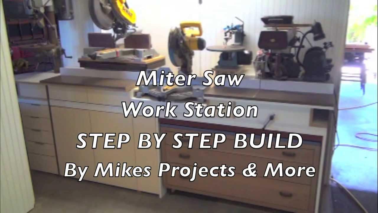 1 Building The Built In Mega Miter Saw Cut Station Good