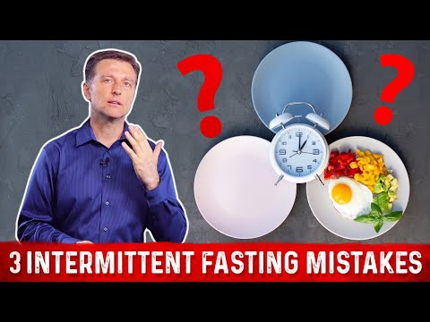 The 3 Huge Intermittent Fasting Mistakes