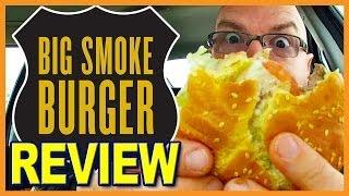 """Big Smoke Burger - """"lamb Burger Fail!"""" Signature Big Smoke Burger Combo Instead"""