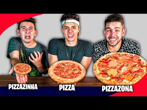 PIZZA, PIZZAZINHA OU PIZZAZONA! - Desafio